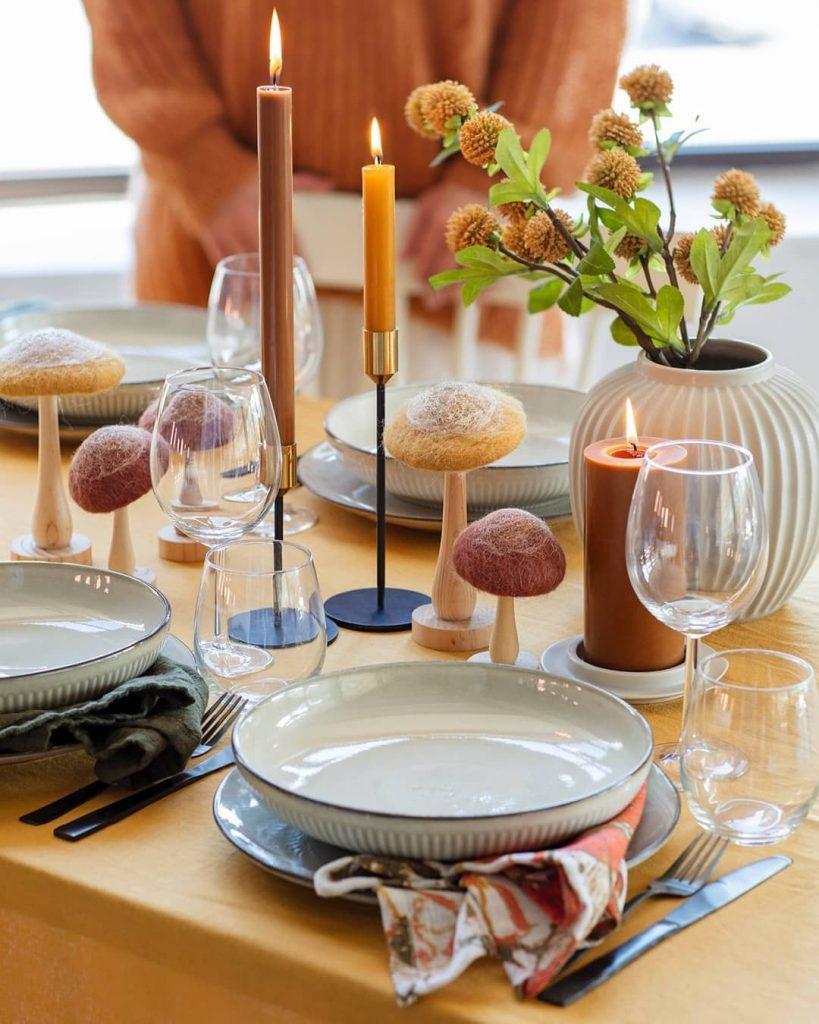 Dekk på til en hyggelig høstfest eller kanskje til et Teaparty? Samle nære venner eller familie til en koselig sammenkomst. Perfekt høstaktivitet. Inspirasjon til pådekning får du hos Nille Norge.